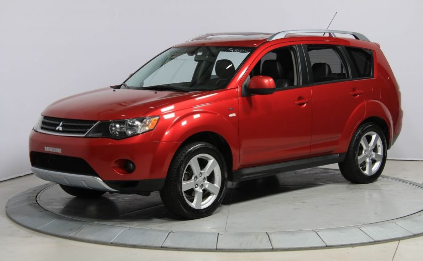 2009 Mitsubishi Outlander XLS 4WD CUIR TOIT MAGS BLUETOOTH 7PASSAGERS #2