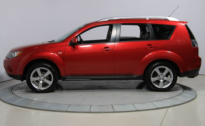 2009 Mitsubishi Outlander XLS 4WD CUIR TOIT MAGS BLUETOOTH 7PASSAGERS #3