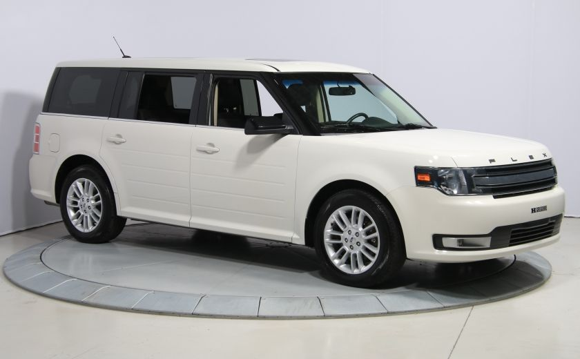 2013 Ford Flex SEL AUTO A/C TOIT MAGS BLUETOOTH 7PASSAGERS #0