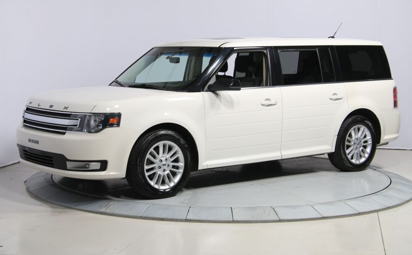 2013 Ford Flex SEL AUTO A/C TOIT MAGS BLUETOOTH 7PASSAGERS #2