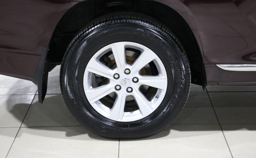 2013 Toyota Highlander 4WD AUTO A/C MAGS BLUETOOTH 7 PASS #29