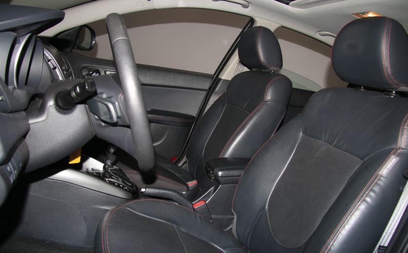 2012 Kia Forte SX AUTO A/C CUIR TOIT MAGS BLUETOOTH #9