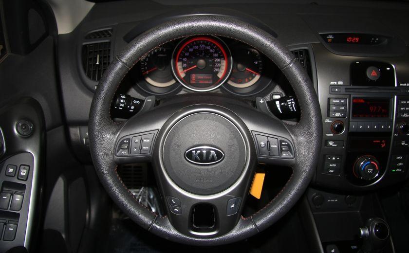 2012 Kia Forte SX AUTO A/C CUIR TOIT MAGS BLUETOOTH #14