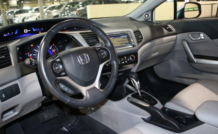2012 Honda Civic EX-L AUTO A/C CUIR TOIT MAGS #8