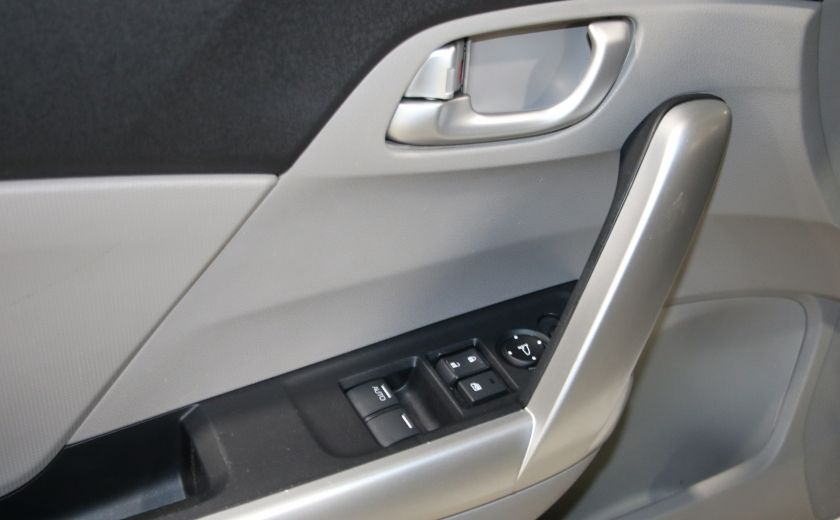 2012 Honda Civic EX-L AUTO A/C CUIR TOIT MAGS #10
