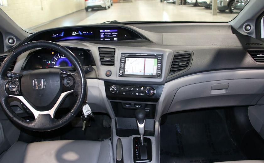 2012 Honda Civic EX-L AUTO A/C CUIR TOIT MAGS #12