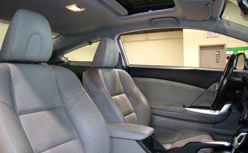 2012 Honda Civic EX-L AUTO A/C CUIR TOIT MAGS #24