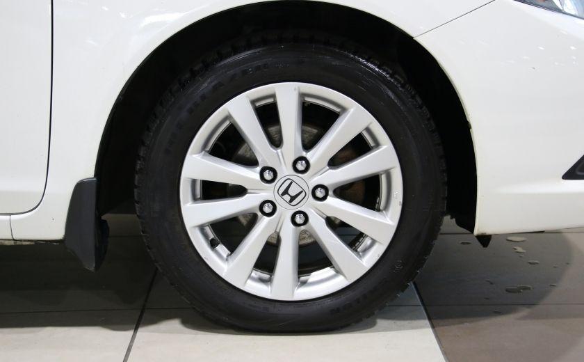 2012 Honda Civic EX-L AUTO A/C CUIR TOIT MAGS #30