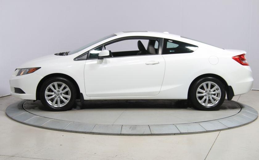 2012 Honda Civic EX-L AUTO A/C CUIR TOIT MAGS #2