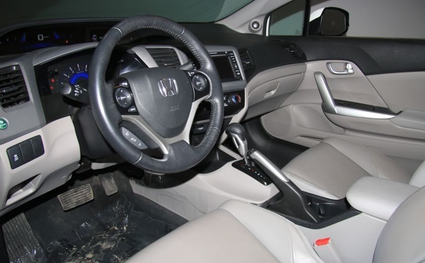 2012 Honda Civic EX-L AUTO A/C CUIR TOIT MAGS #7