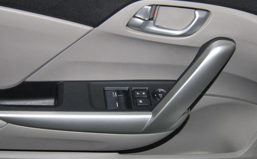 2012 Honda Civic EX-L AUTO A/C CUIR TOIT MAGS #9