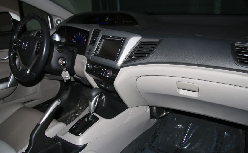 2012 Honda Civic EX-L AUTO A/C CUIR TOIT MAGS #19