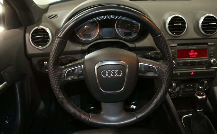 2012 Audi A3 2.0T Progressiv A/C CUIR TOIT MAGS BLUETOOTH #15