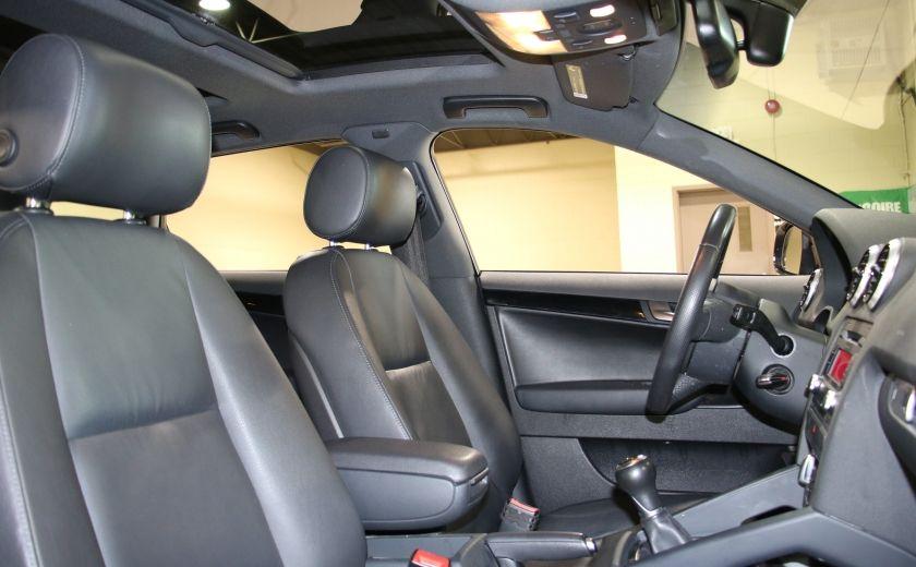 2012 Audi A3 2.0T Progressiv A/C CUIR TOIT MAGS BLUETOOTH #24