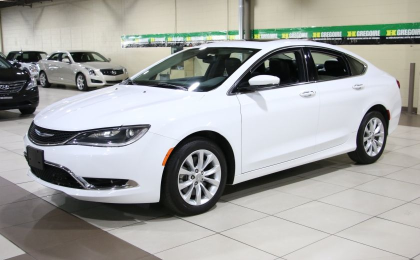 2015 Chrysler 200 C AUTO A/C CUIR TOIT PANO MAGS #2