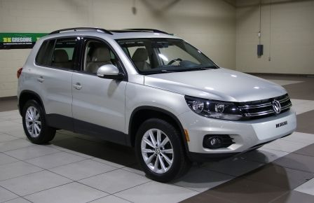 2014 Volkswagen Tiguan Comfortline AWD A/C CUIR TOIT PANO MAGS à Sherbrooke