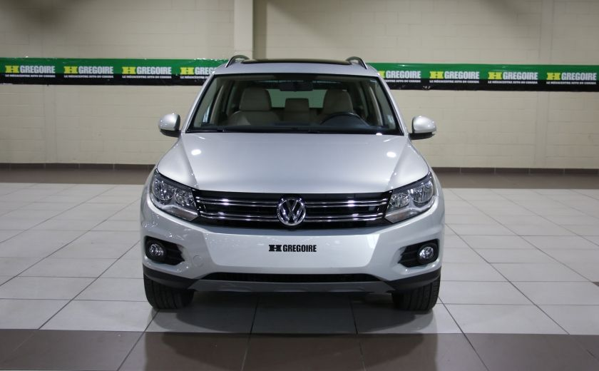 2014 Volkswagen Tiguan Comfortline AWD A/C CUIR TOIT PANO MAGS #1