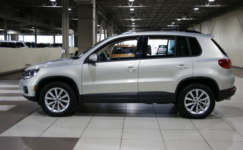 2014 Volkswagen Tiguan Comfortline AWD A/C CUIR TOIT PANO MAGS #3