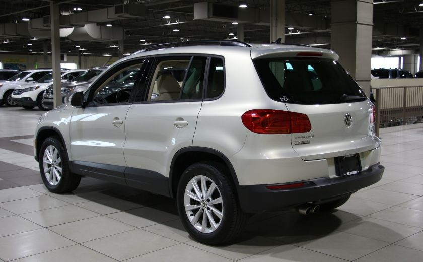 2014 Volkswagen Tiguan Comfortline AWD A/C CUIR TOIT PANO MAGS #4
