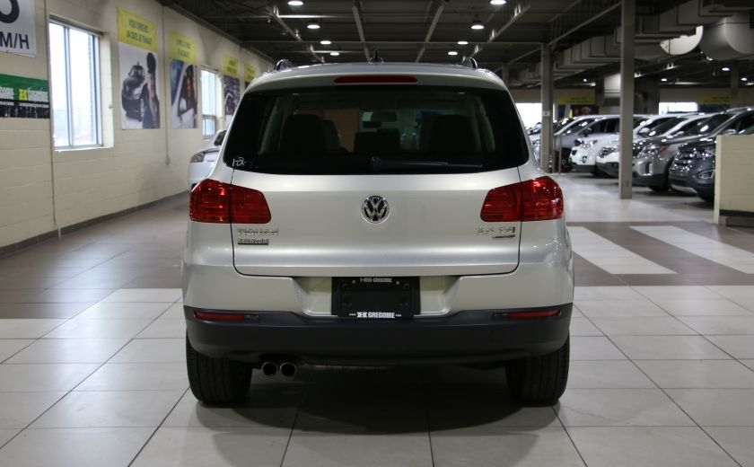 2014 Volkswagen Tiguan Comfortline AWD A/C CUIR TOIT PANO MAGS #5