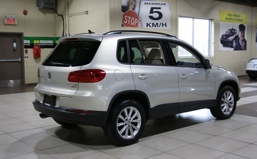 2014 Volkswagen Tiguan Comfortline AWD A/C CUIR TOIT PANO MAGS #6