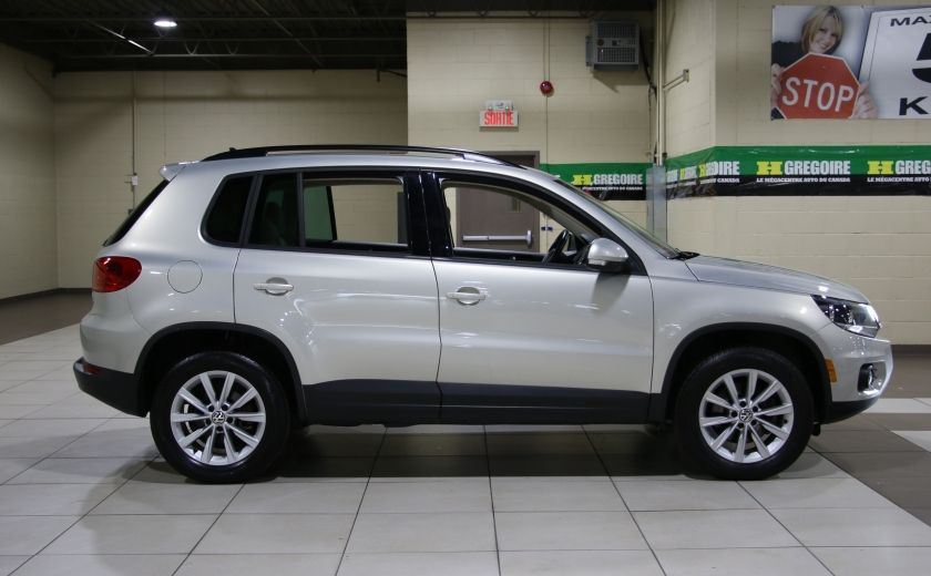 2014 Volkswagen Tiguan Comfortline AWD A/C CUIR TOIT PANO MAGS #7