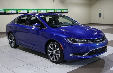 2016 Chrysler 200 C A/C CUIR TOIT PANO MAGS BLUETOOTH CAM.RECUL à Drummondville