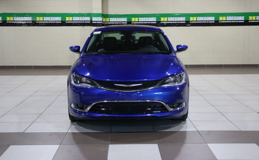 2016 Chrysler 200 C A/C CUIR TOIT PANO MAGS BLUETOOTH CAM.RECUL #1