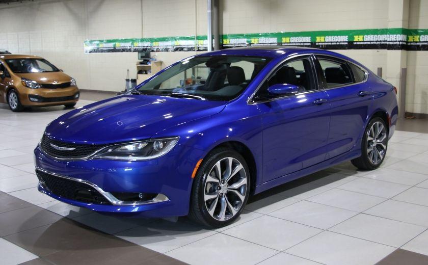 2016 Chrysler 200 C A/C CUIR TOIT PANO MAGS BLUETOOTH CAM.RECUL #2