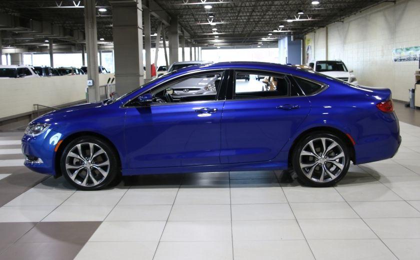 2016 Chrysler 200 C A/C CUIR TOIT PANO MAGS BLUETOOTH CAM.RECUL #3