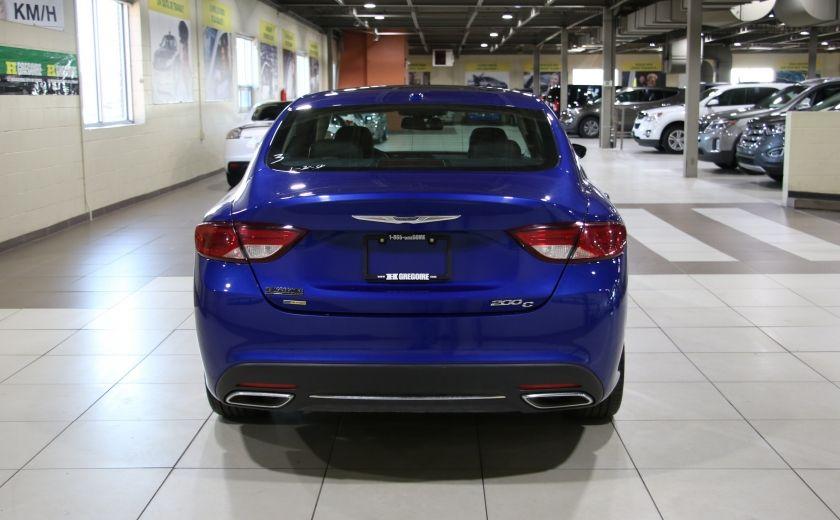 2016 Chrysler 200 C A/C CUIR TOIT PANO MAGS BLUETOOTH CAM.RECUL #5