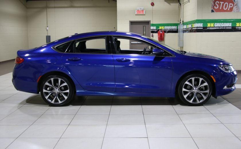 2016 Chrysler 200 C A/C CUIR TOIT PANO MAGS BLUETOOTH CAM.RECUL #7