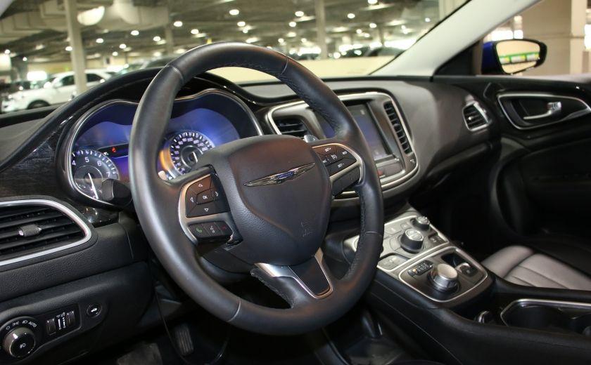 2016 Chrysler 200 C A/C CUIR TOIT PANO MAGS BLUETOOTH CAM.RECUL #8