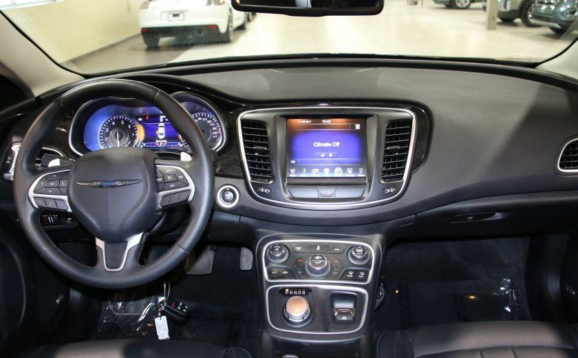 2016 Chrysler 200 C A/C CUIR TOIT PANO MAGS BLUETOOTH CAM.RECUL #13