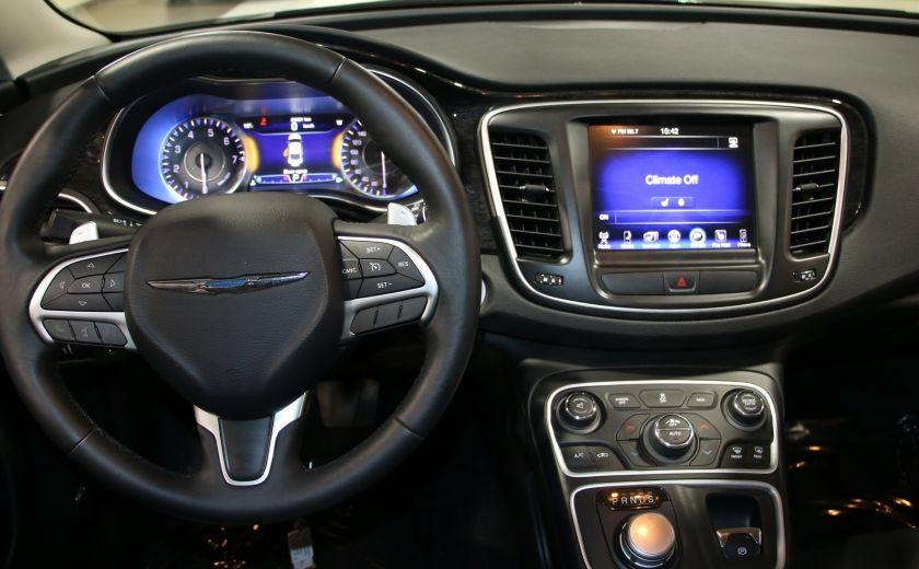 2016 Chrysler 200 C A/C CUIR TOIT PANO MAGS BLUETOOTH CAM.RECUL #14