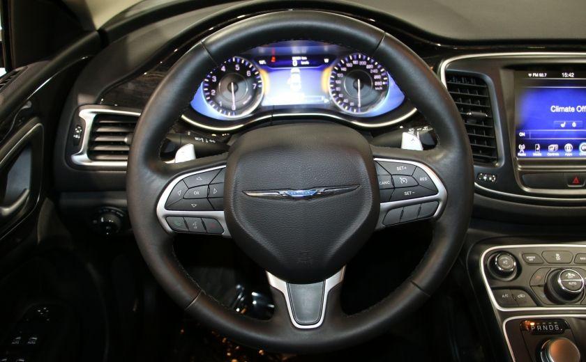 2016 Chrysler 200 C A/C CUIR TOIT PANO MAGS BLUETOOTH CAM.RECUL #15