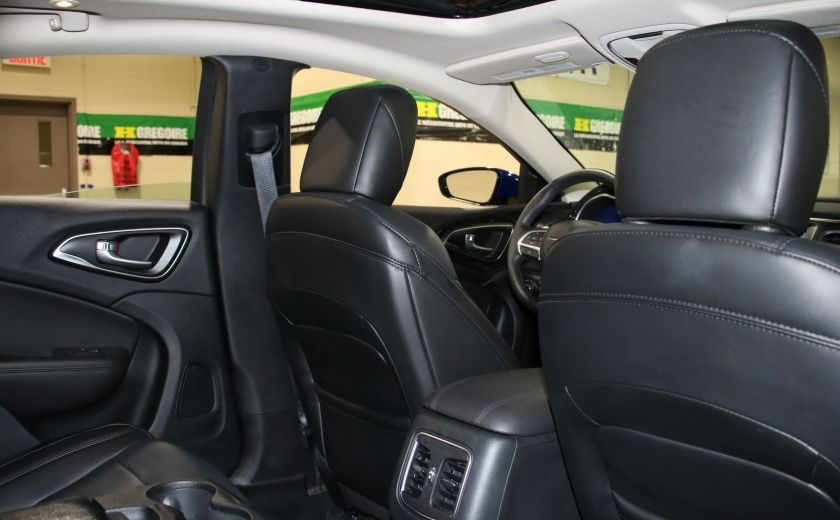 2016 Chrysler 200 C A/C CUIR TOIT PANO MAGS BLUETOOTH CAM.RECUL #23