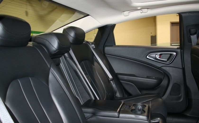 2016 Chrysler 200 C A/C CUIR TOIT PANO MAGS BLUETOOTH CAM.RECUL #24