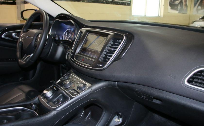 2016 Chrysler 200 C A/C CUIR TOIT PANO MAGS BLUETOOTH CAM.RECUL #25