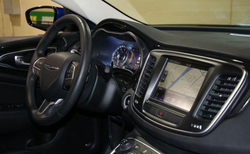 2016 Chrysler 200 C A/C CUIR TOIT PANO MAGS BLUETOOTH CAM.RECUL #26
