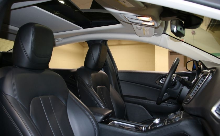 2016 Chrysler 200 C A/C CUIR TOIT PANO MAGS BLUETOOTH CAM.RECUL #27