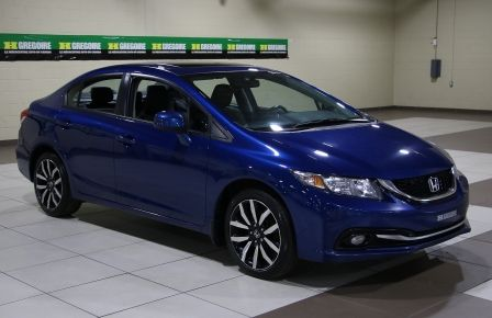 2013 Honda Civic Touring AUTO A/C CUIR TOIT MAGS BLUETOOTH in Saint-Hyacinthe