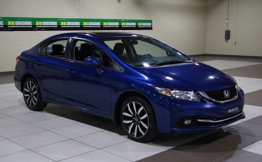 2013 Honda Civic Touring AUTO A/C CUIR TOIT MAGS BLUETOOTH #0