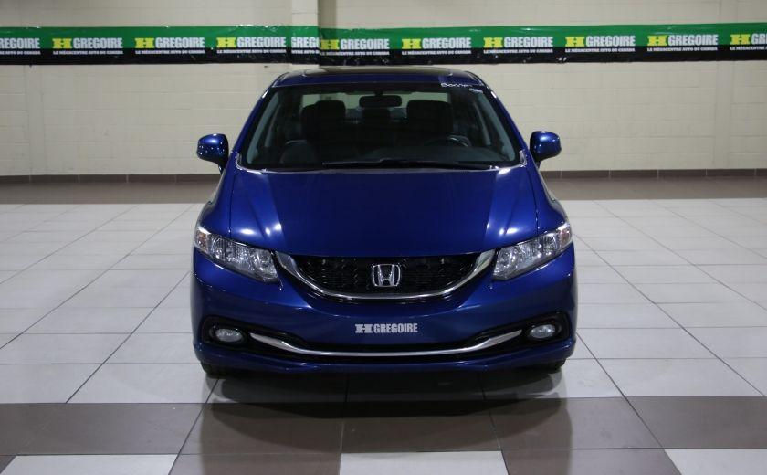 2013 Honda Civic Touring AUTO A/C CUIR TOIT MAGS BLUETOOTH #1