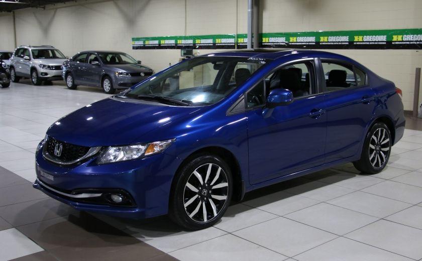2013 Honda Civic Touring AUTO A/C CUIR TOIT MAGS BLUETOOTH #2
