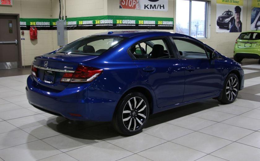 2013 Honda Civic Touring AUTO A/C CUIR TOIT MAGS BLUETOOTH #6