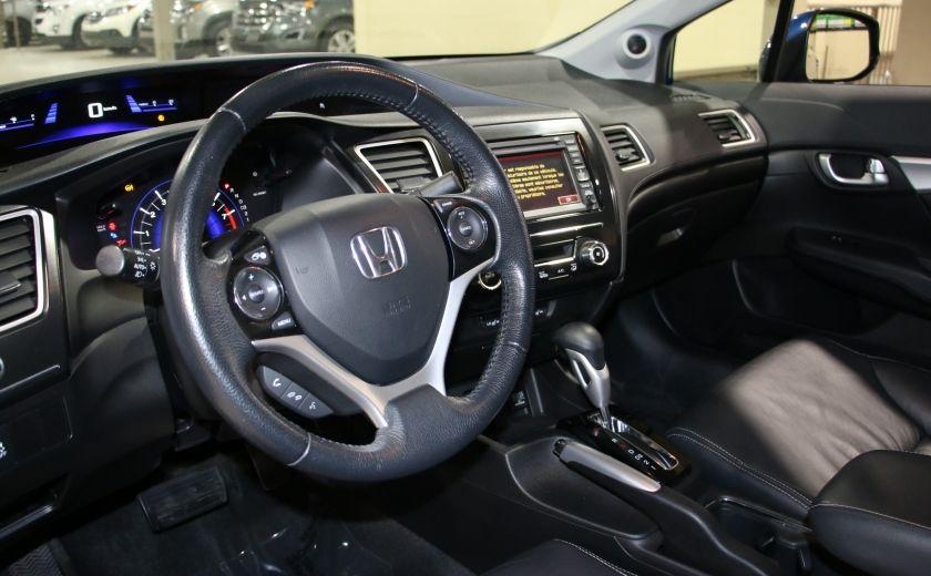 2013 Honda Civic Touring AUTO A/C CUIR TOIT MAGS BLUETOOTH #8