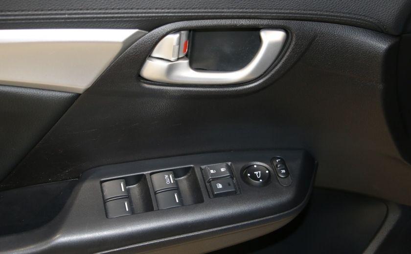 2013 Honda Civic Touring AUTO A/C CUIR TOIT MAGS BLUETOOTH #10