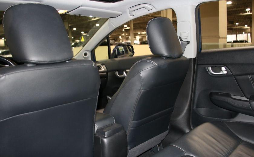 2013 Honda Civic Touring AUTO A/C CUIR TOIT MAGS BLUETOOTH #22