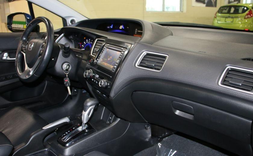 2013 Honda Civic Touring AUTO A/C CUIR TOIT MAGS BLUETOOTH #26